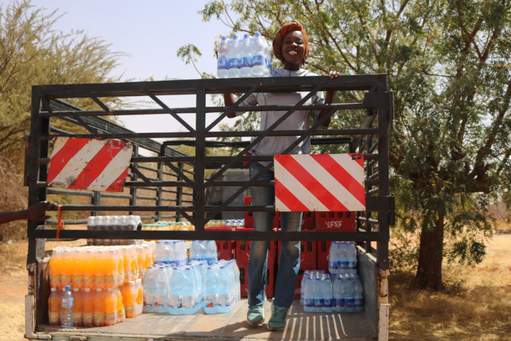 Daal Group Delivery of Water North Kordofan Emi Mahmoud