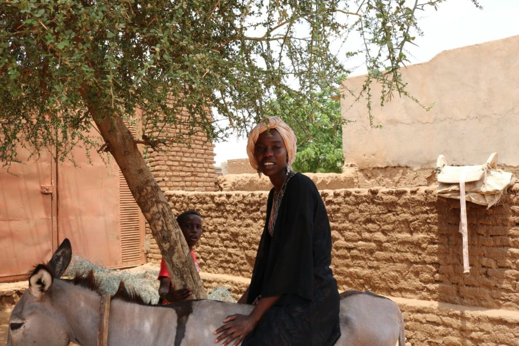 Emi and the Donkey North Darfur Visit to Grandpa's House