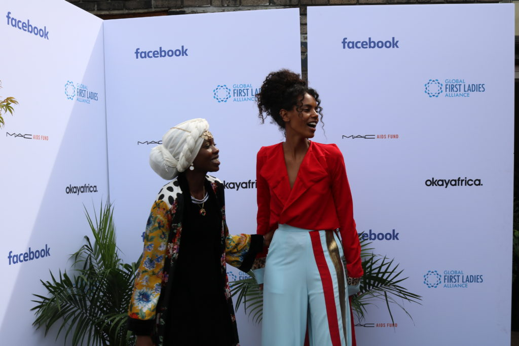 Facebook Global First Ladies Event Emi Mahmoud
