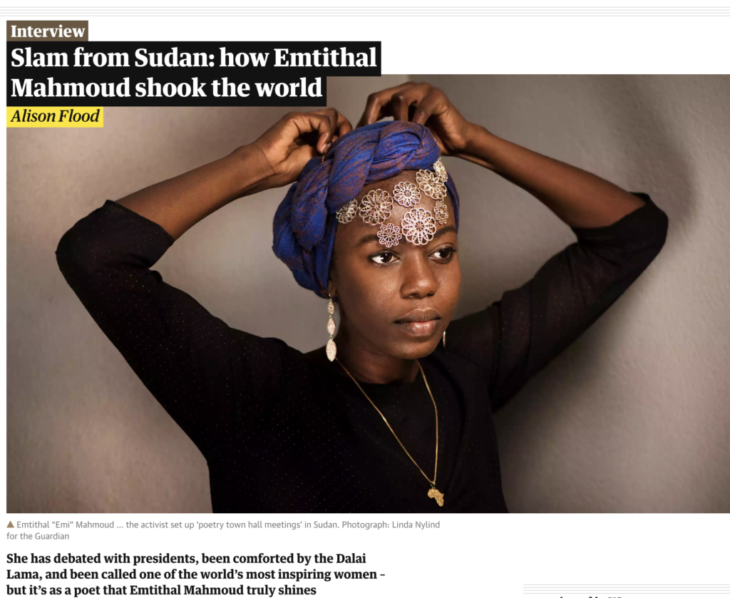 Emi Mahmoud Featured in the Guardian