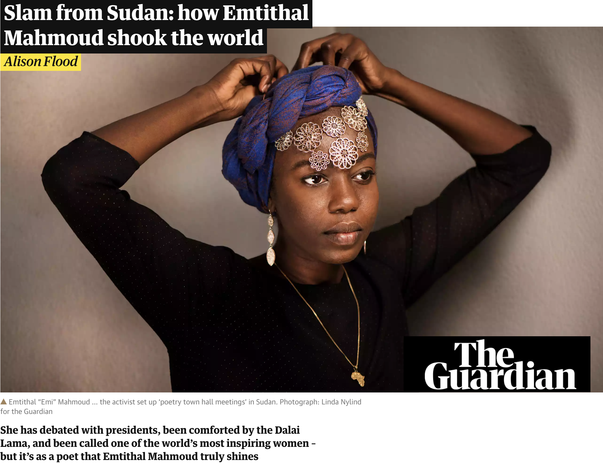 EMi featured in the guardian