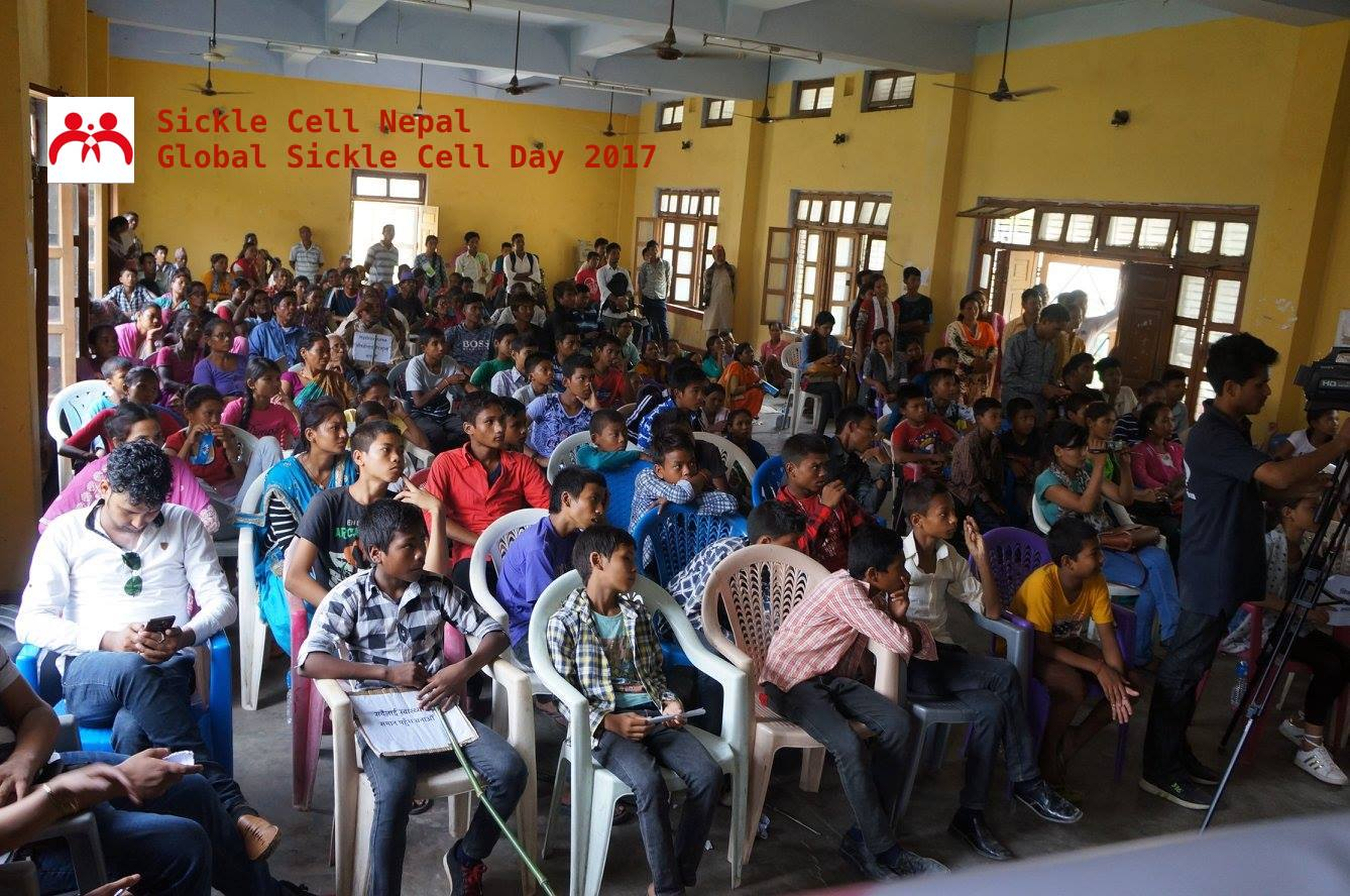 Sickle Cell Nepal Global Sickle Cell Day 2017